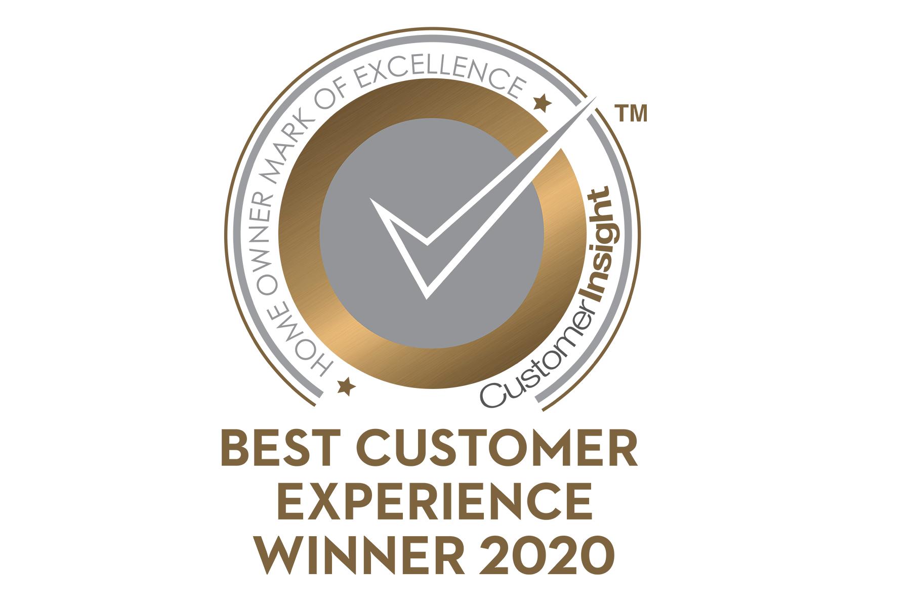 2020 CustomerInsight H.O.M.E Best Customer Experience
