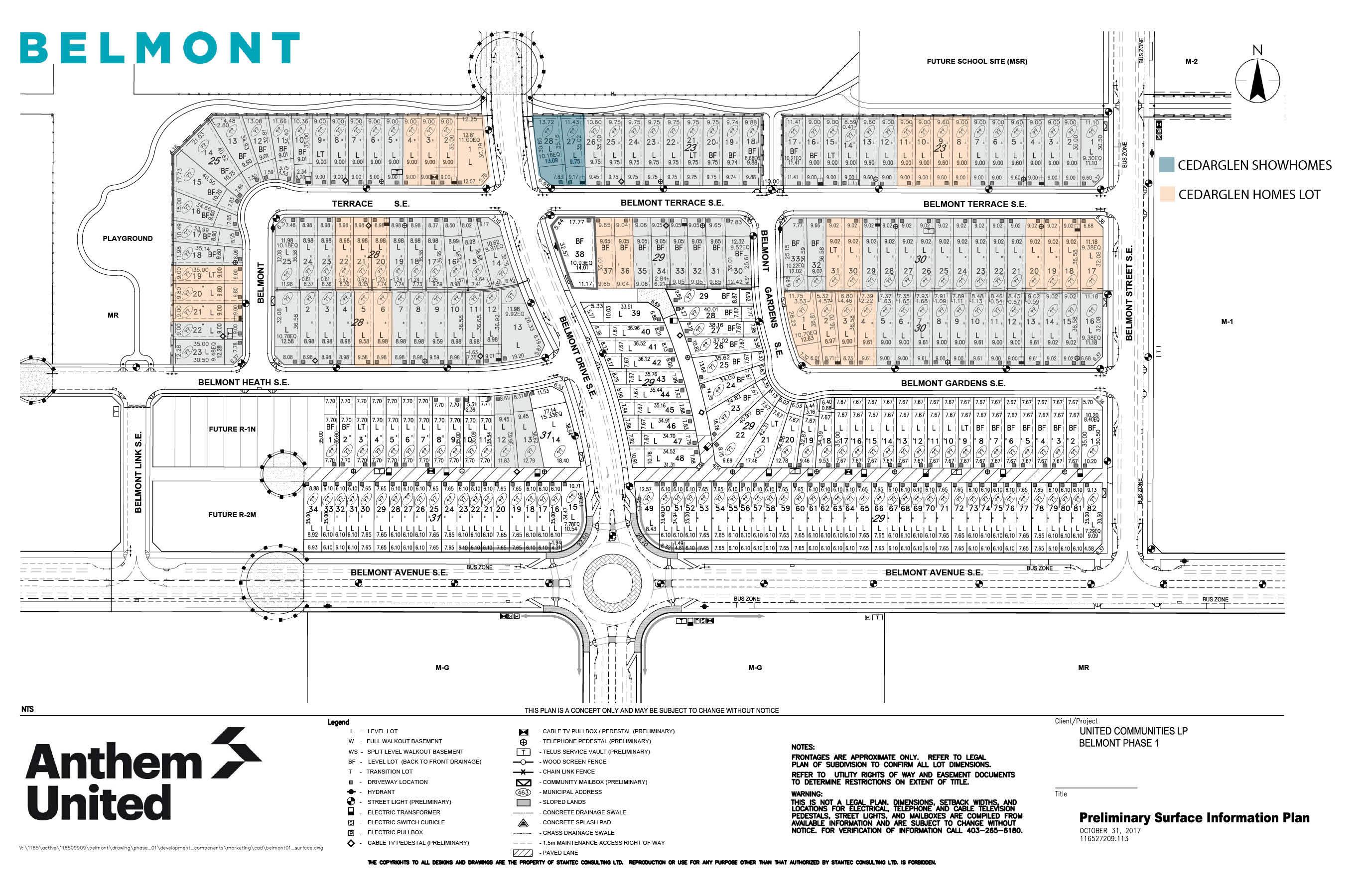 Belmont Phase Map
