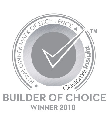 2017 and 2018 Customer Insight H.O.M.E. Builder of Choice Award