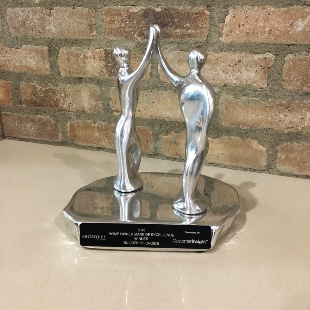 CustomerInsight's Builder of Choice Award