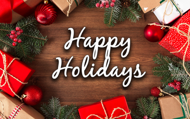 Happy Holidays from Cedarglen!